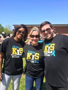 Gigi, Gaylene, and Brian