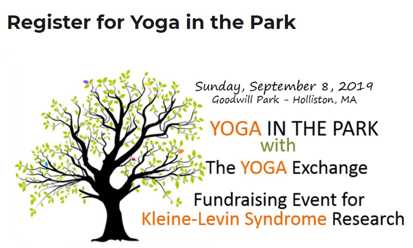 3RD ANNUAL YOGA IN THE PARK BENEFITING KLS RESEARCH AT EMORY UNIVERSITY'S PROGRAM IN SLEEP MEDICINE